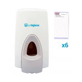 Jabonera FoamSoap + 6 cambios espuma