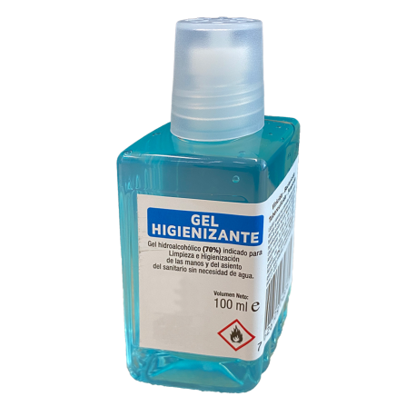 Gel hidroalcohólico 100 ml (caja 15 unidades)