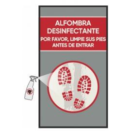 Alfombra desinfectante (Jet Print rojo)